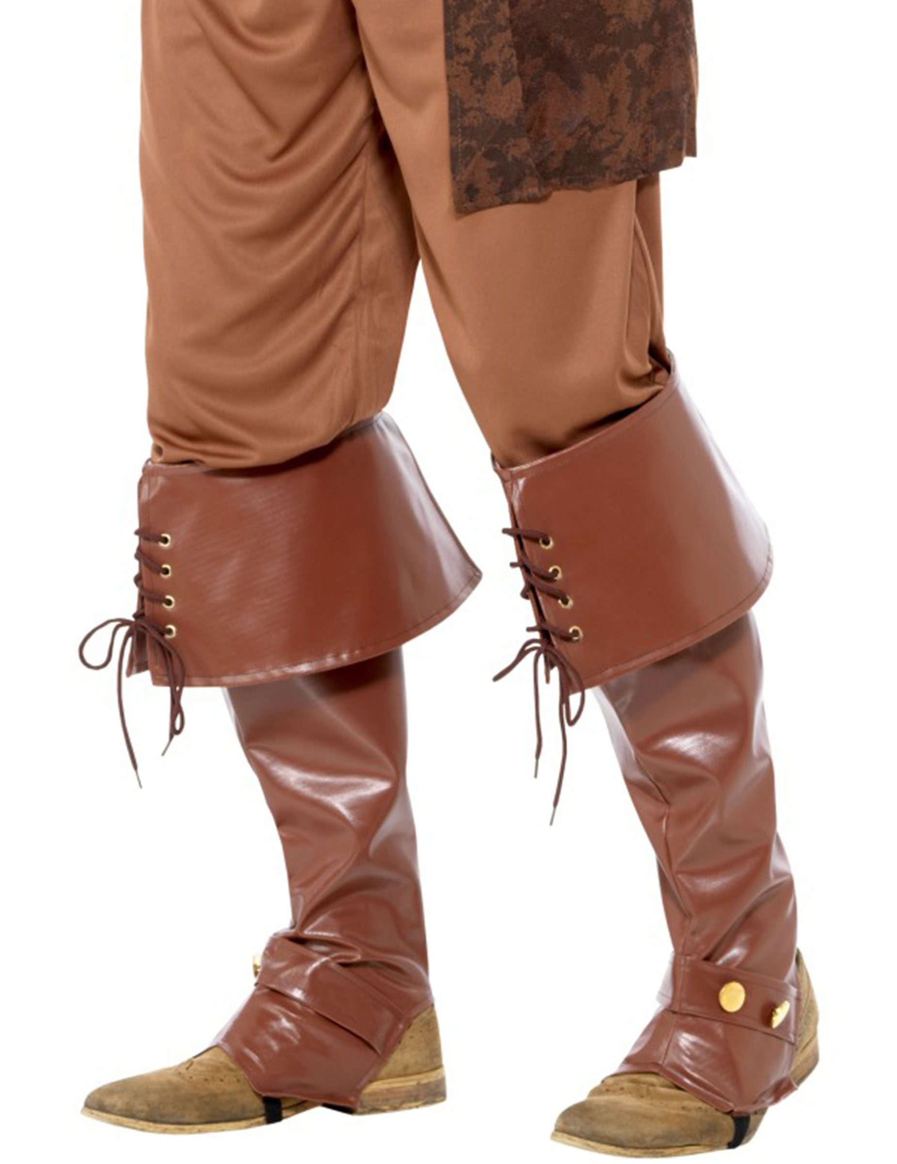 Braun Stulpen Braun Piraten Piraten Stiefel Stiefel Stulpen Stiefel Piraten Kostümaccessoire Stulpen Kostümaccessoire Ok80wnP