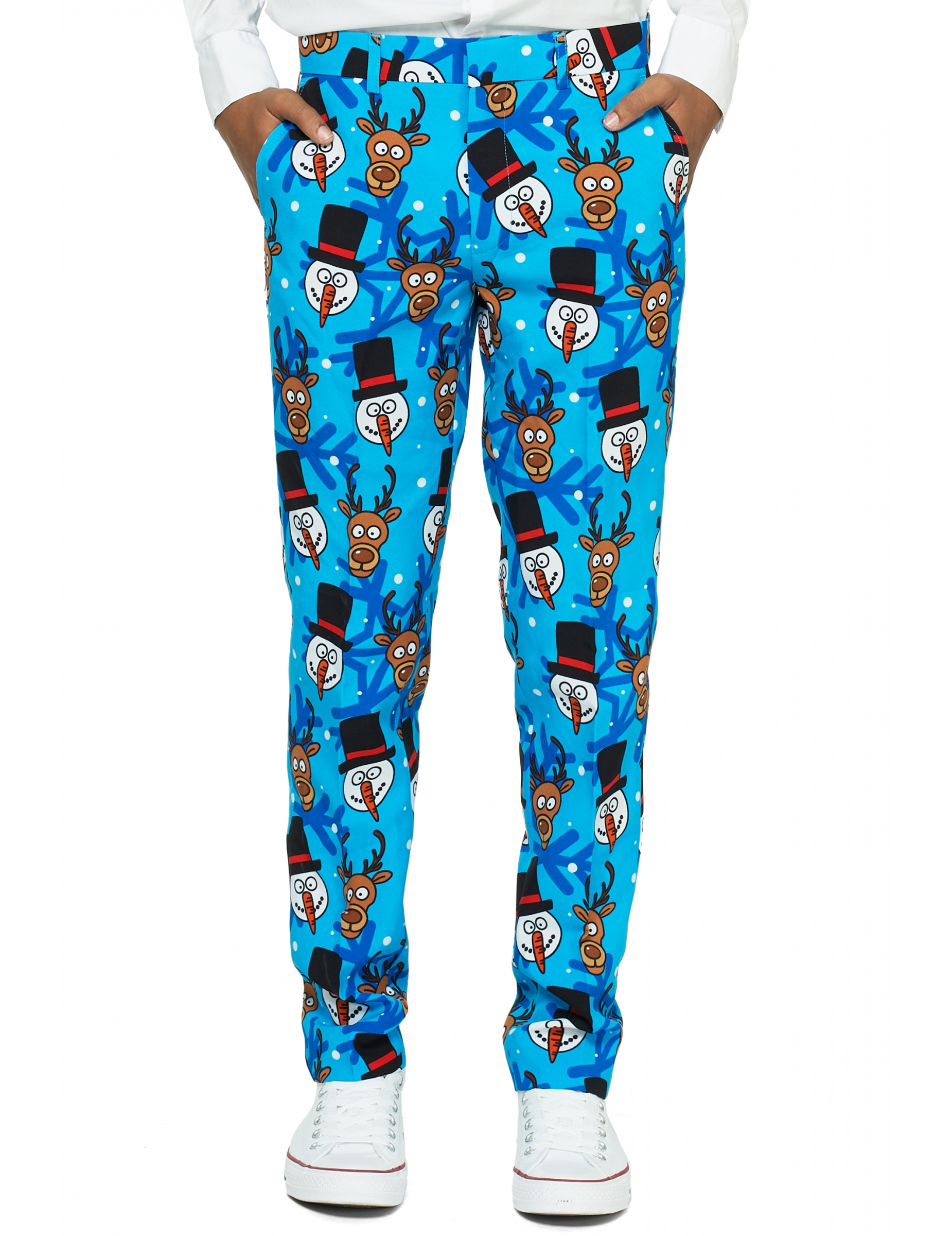 Mr. Winter Teenager Anzug von Opposuits™ bunt