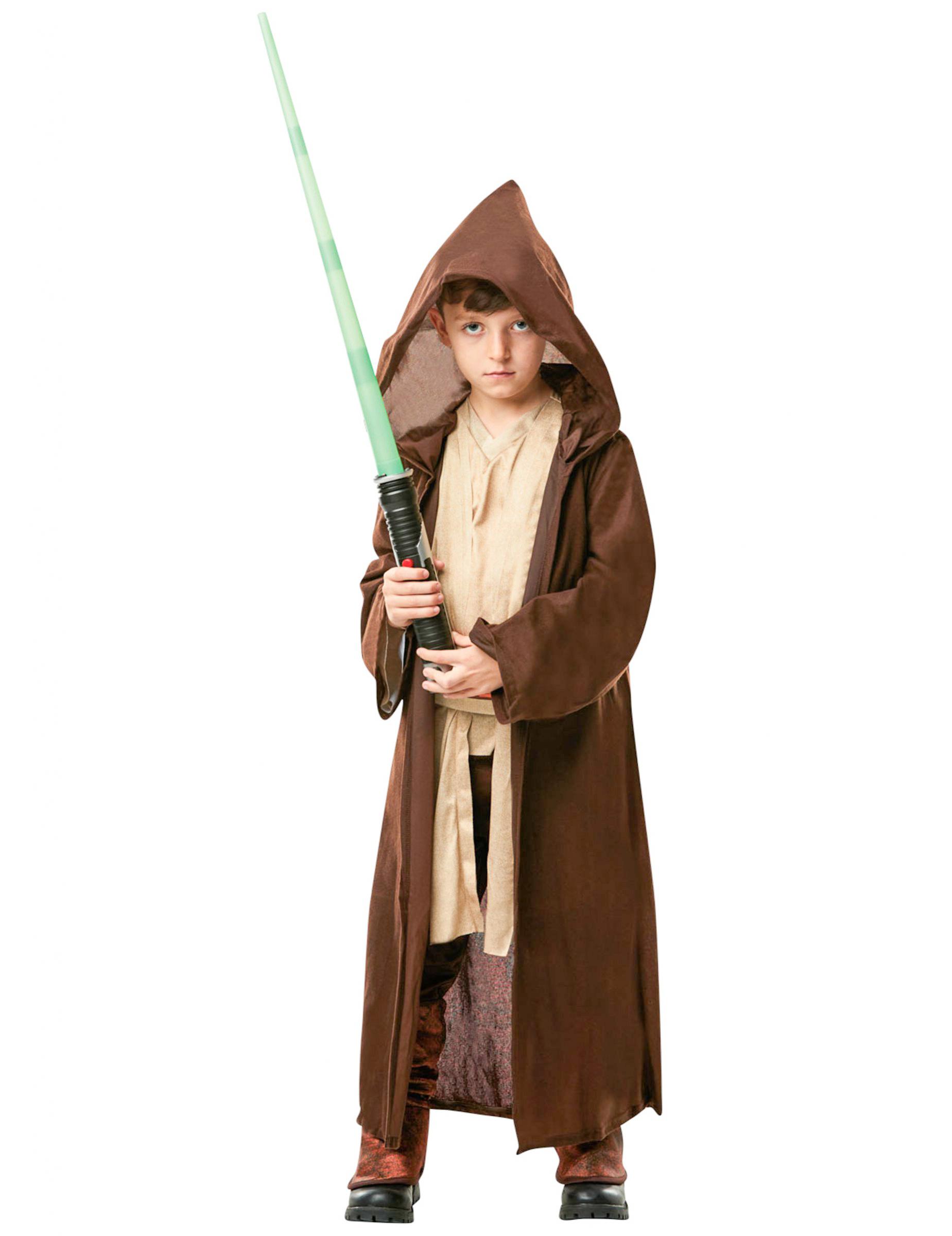 Jedi Kinderkostüm Deluxe Star Wars Lizenartikel Braun Günstige