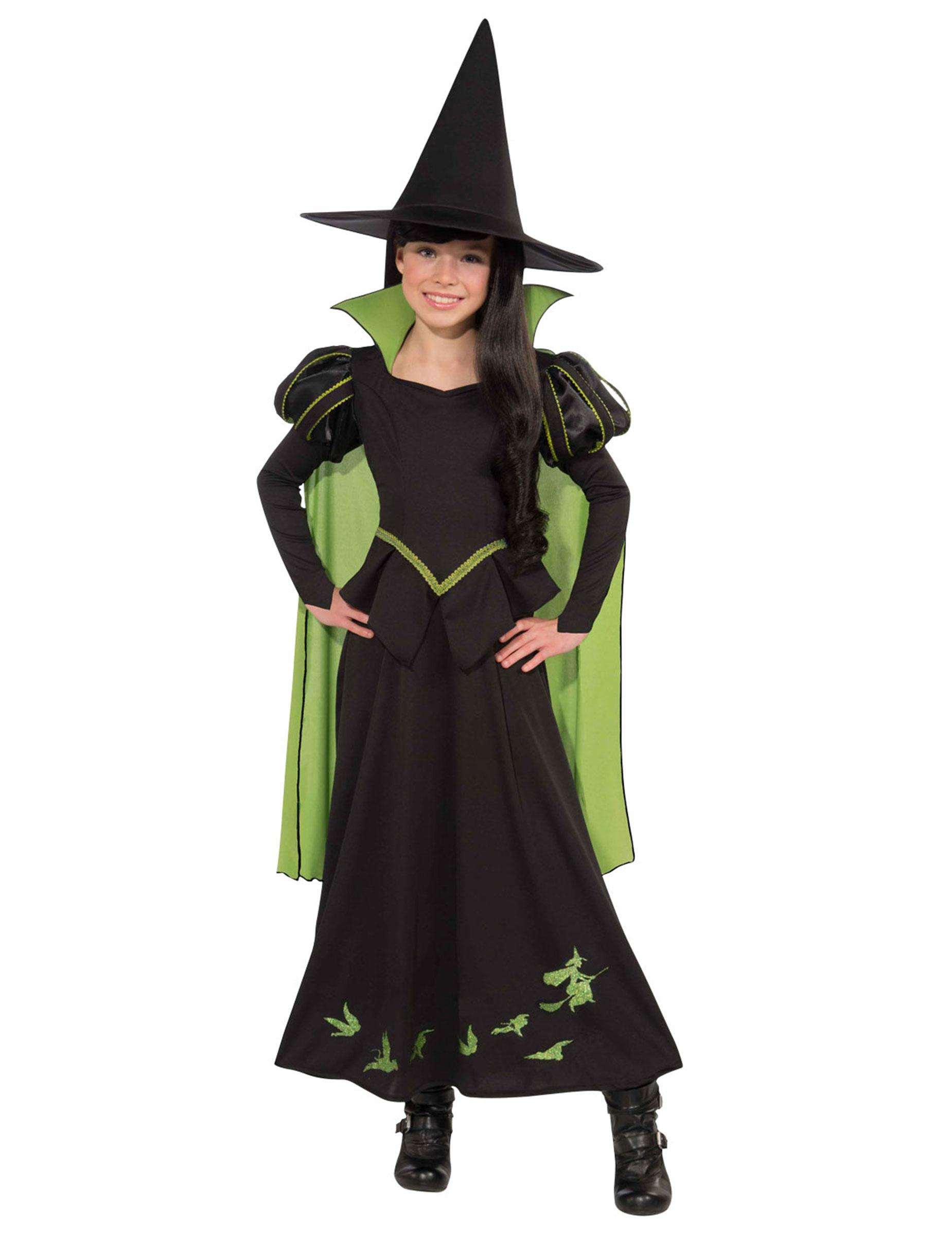 Bose Hexe Des Westens Kostum Der Zauberer Von Oz Fur Kinder
