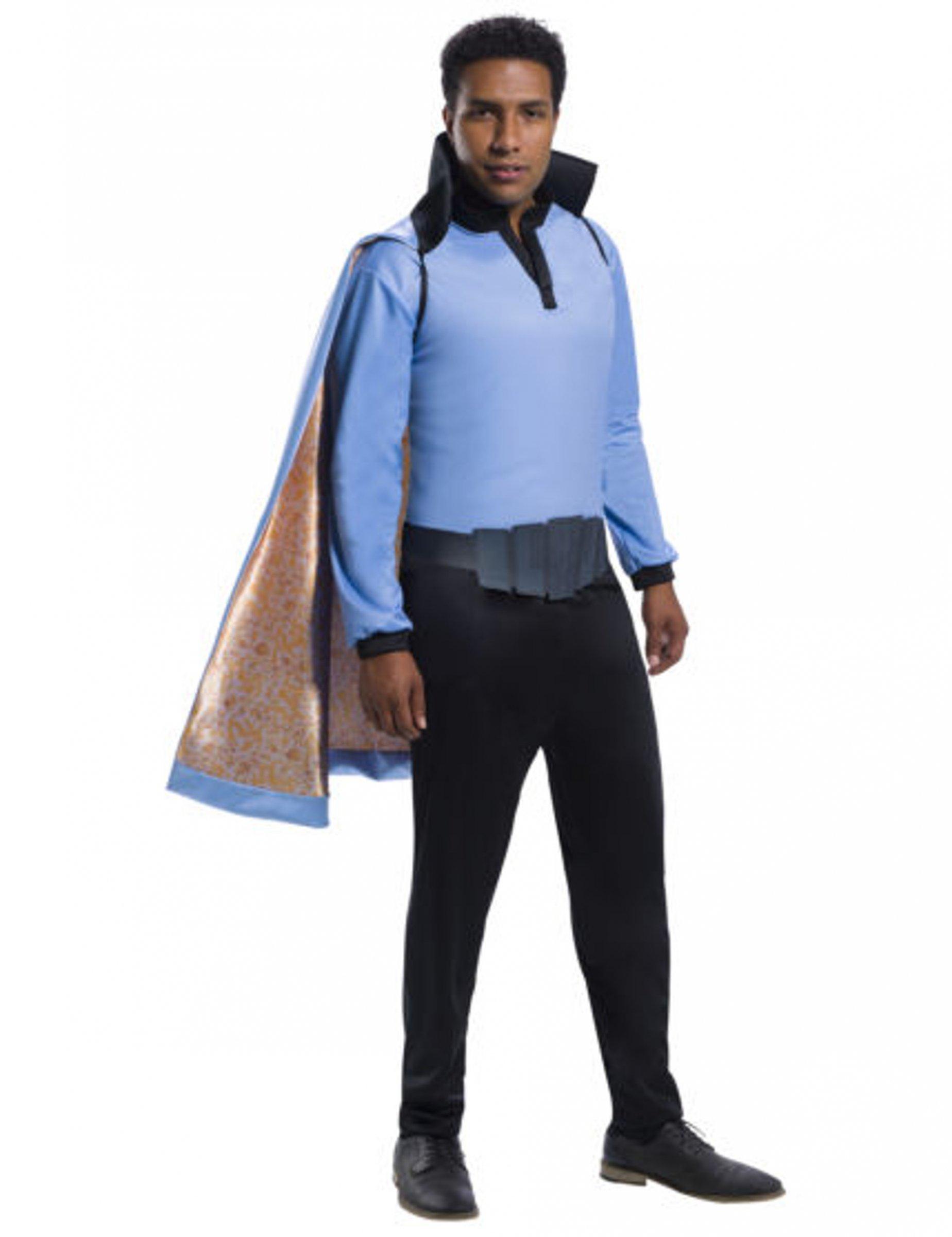 Lando Calrissian Kostüm Für Herren Star Wars Schwarz Blau Gold