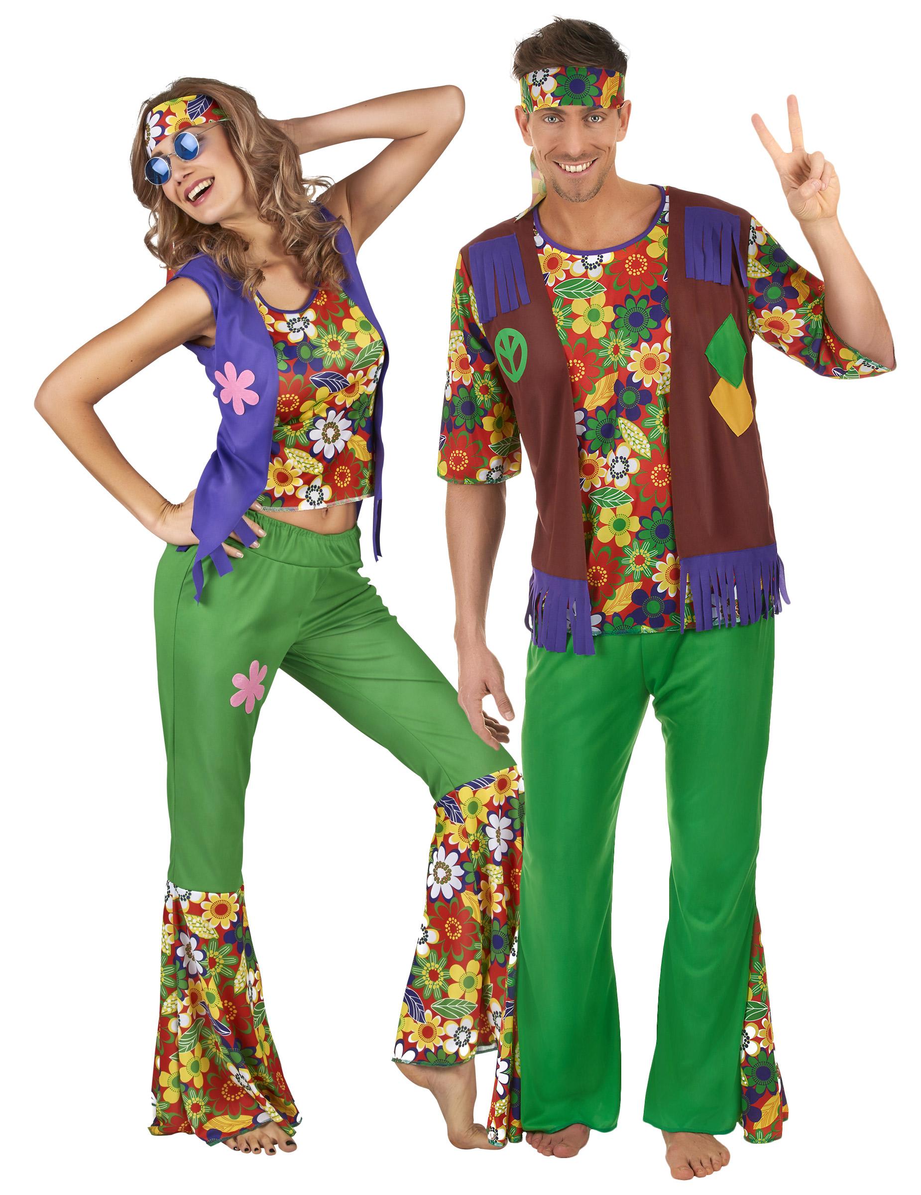 Hippie kostüm für paare