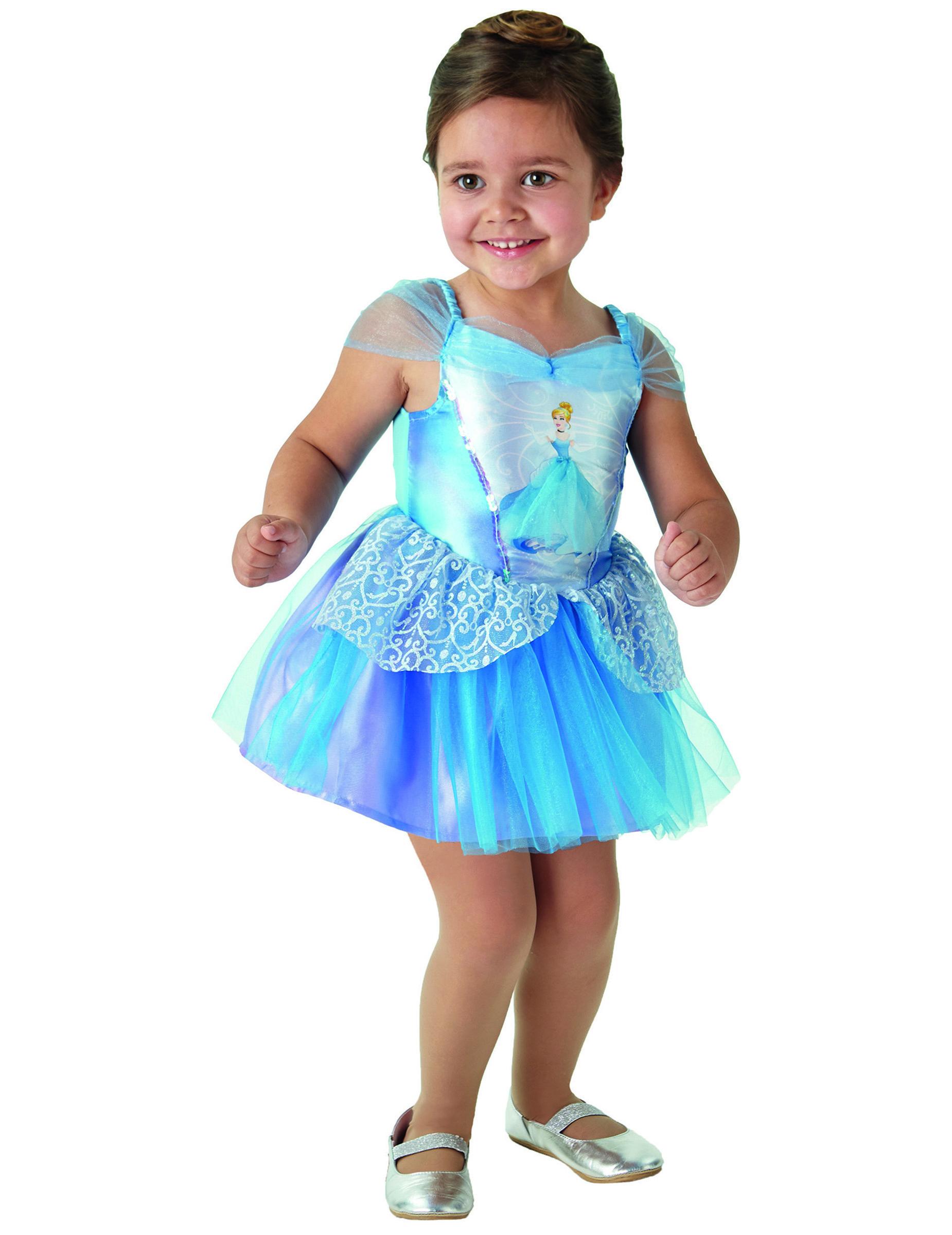 cinderella kost m f r m dchen disney ballerina blau. Black Bedroom Furniture Sets. Home Design Ideas