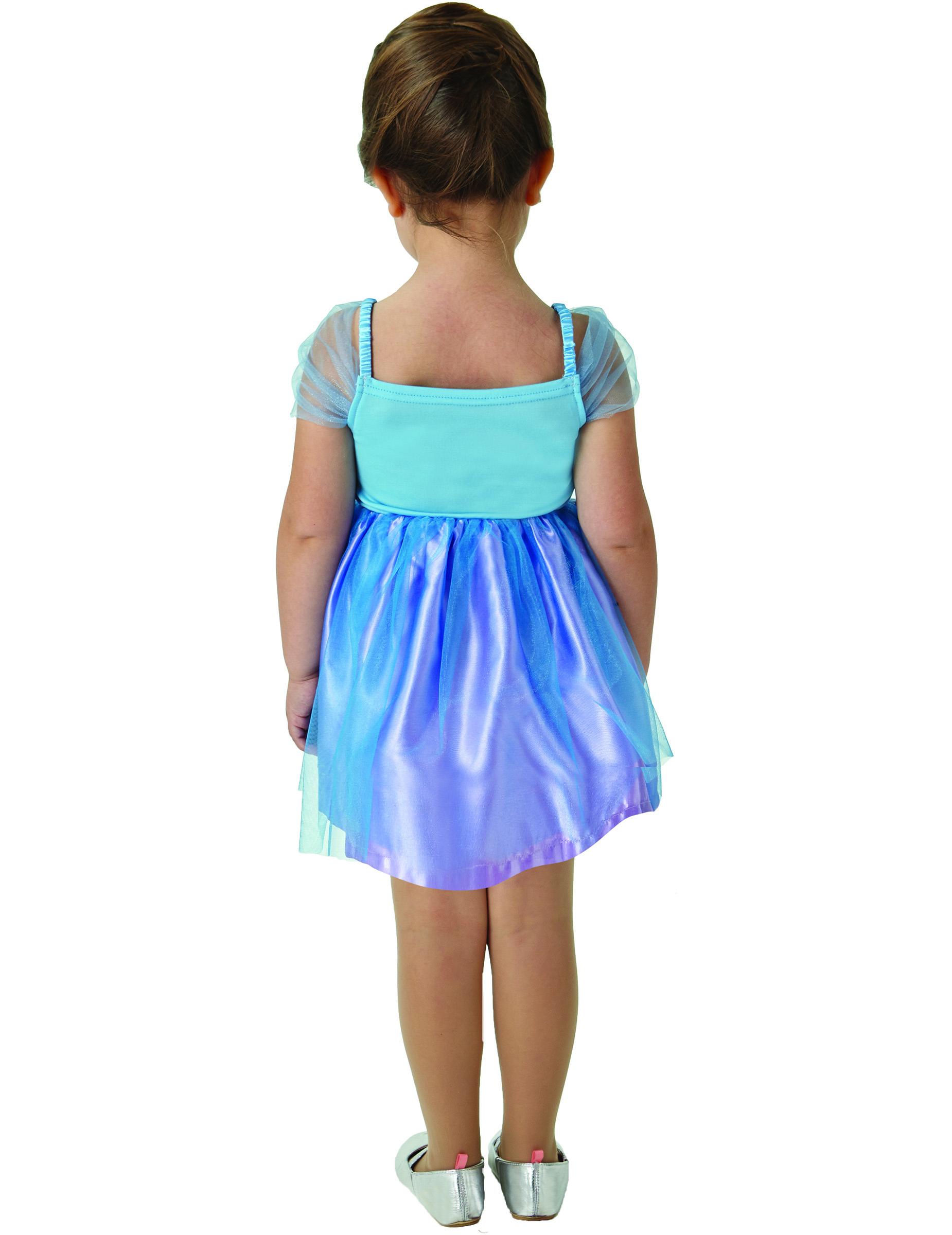 Cinderella™ Kostüm für Mädchen Disney™ Ballerina blau