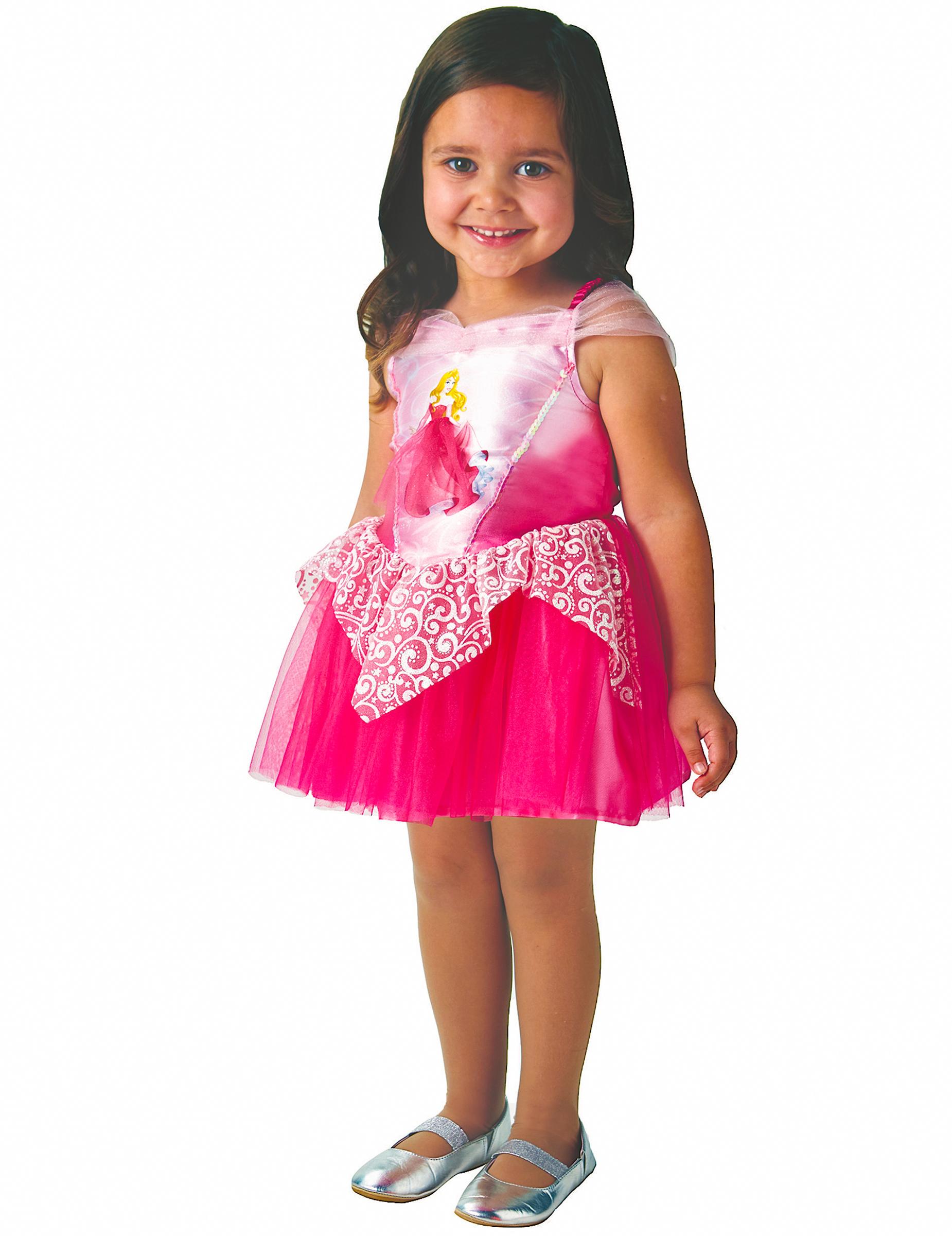 Mädchen Dornröschen Kostüm Blau Kinder Prinzessin Aurora Kostüm Outfit