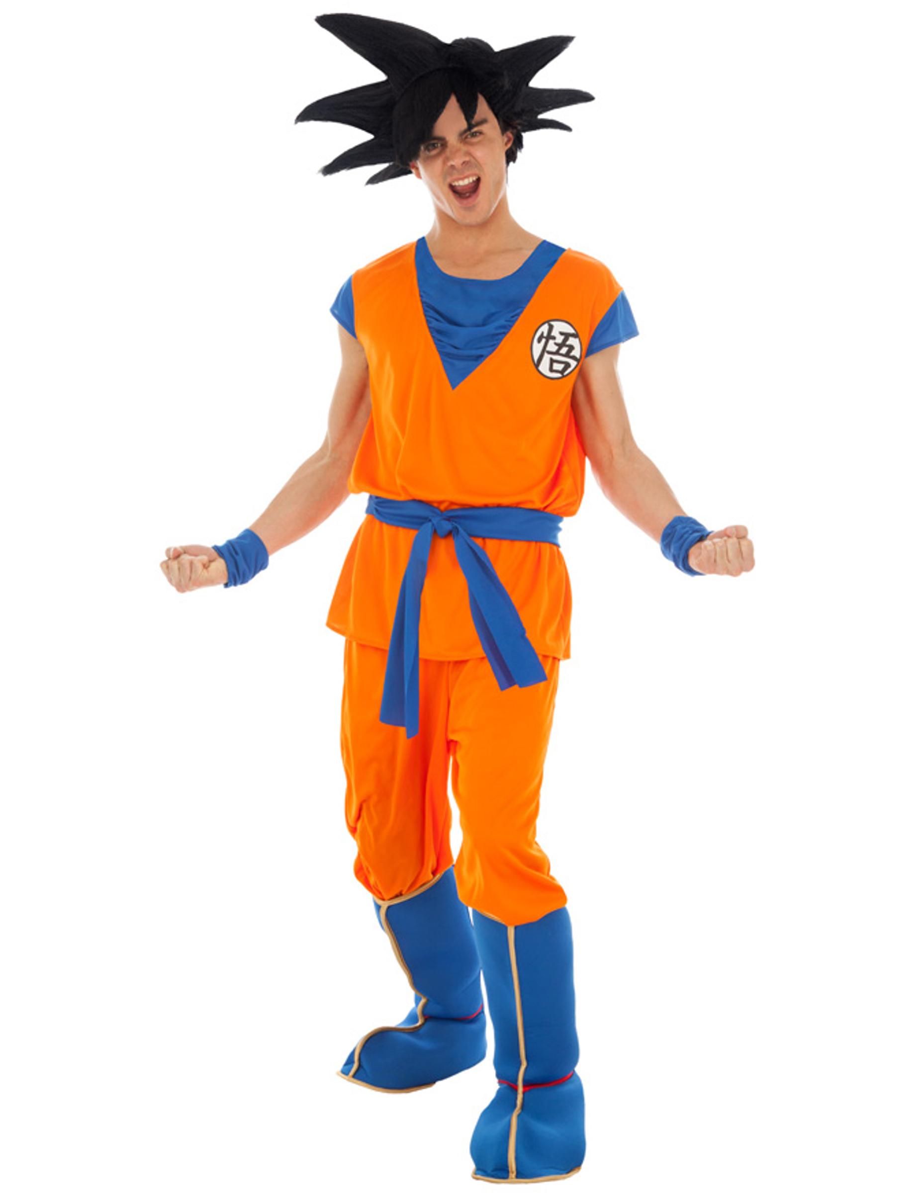 Son Goku Kostüm Dragonball Z Kostüm Orange