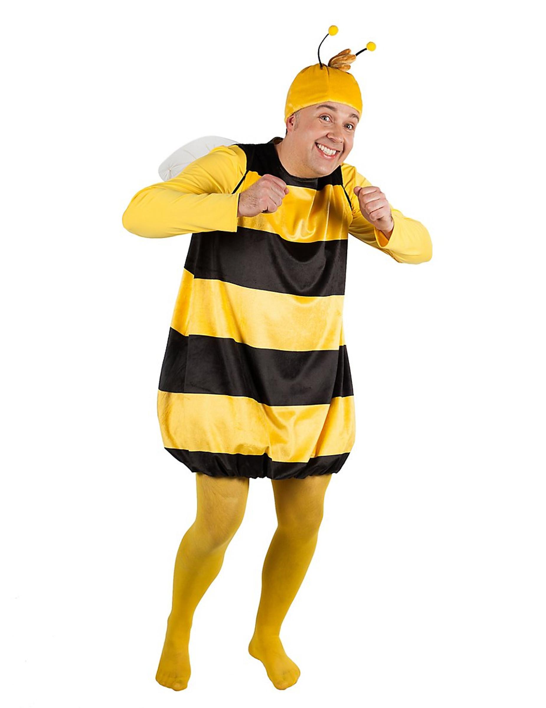 Offizielles Biene Maja Kostum Fur Manner Und Frauen Gelb Schwarz