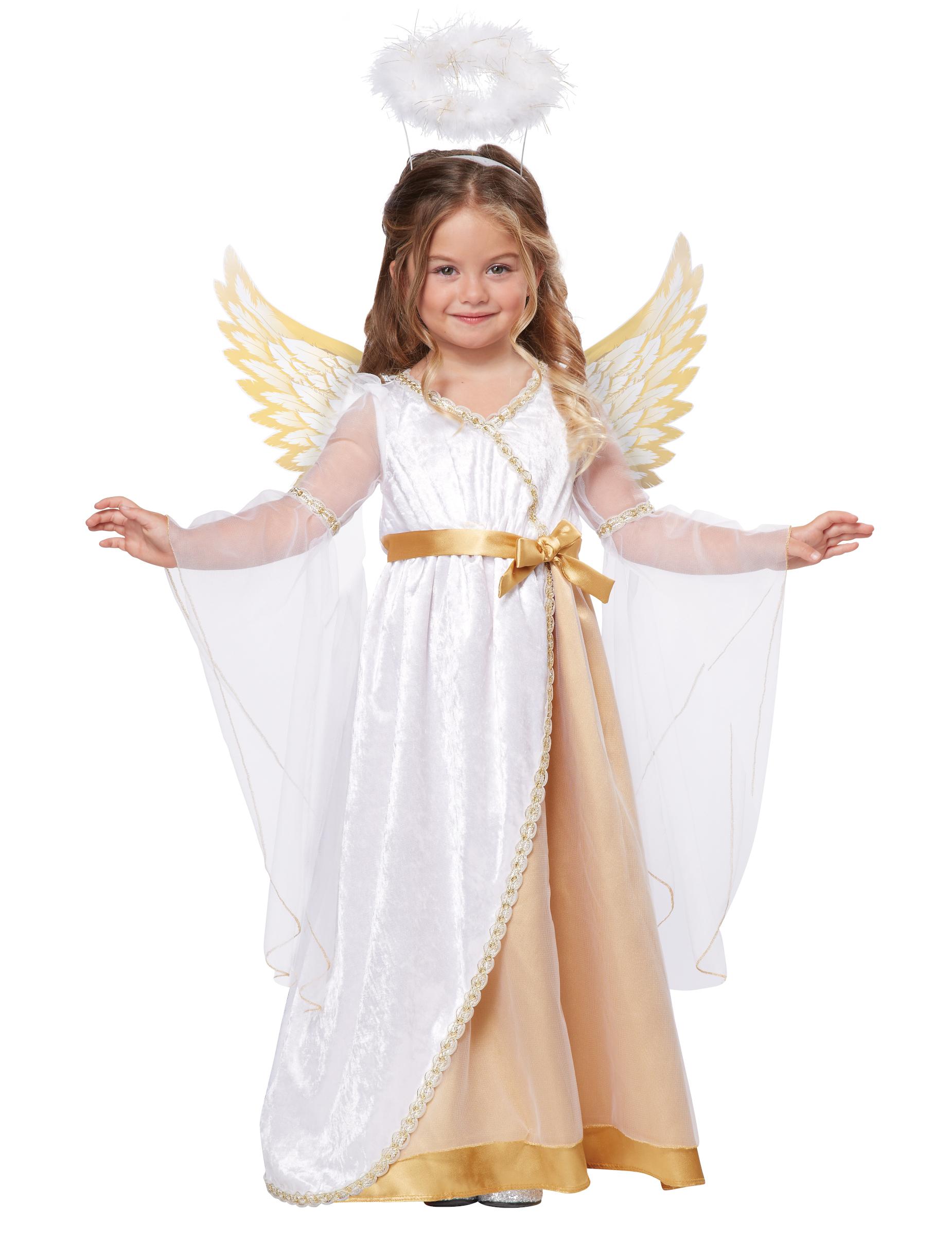 Engel Kostum Fur Kinder Krippenspiel Kostum Fasching Kostum 3