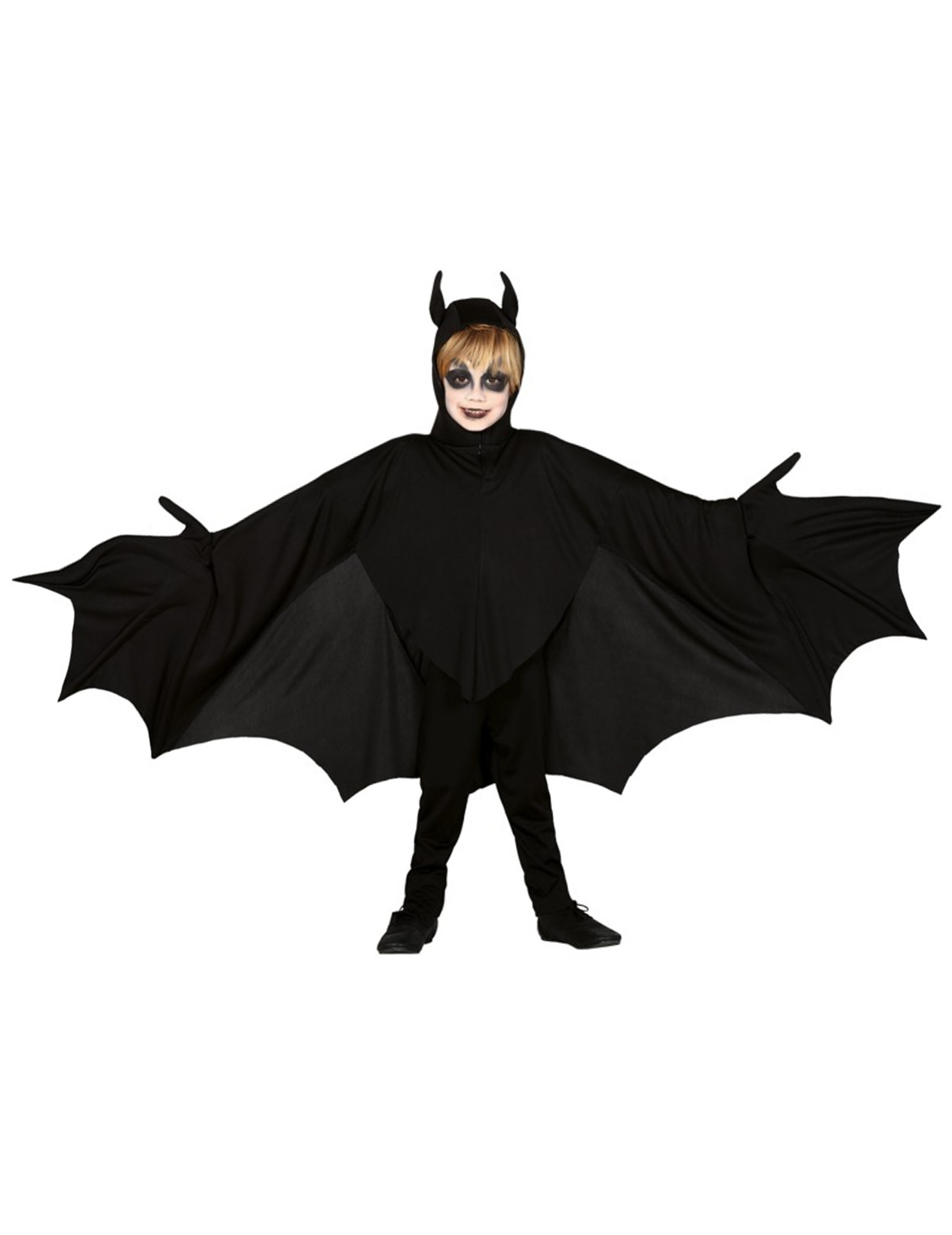 Gruseliges Fledermaus Kostum Fur Kinder Halloween Kostum Schwarz