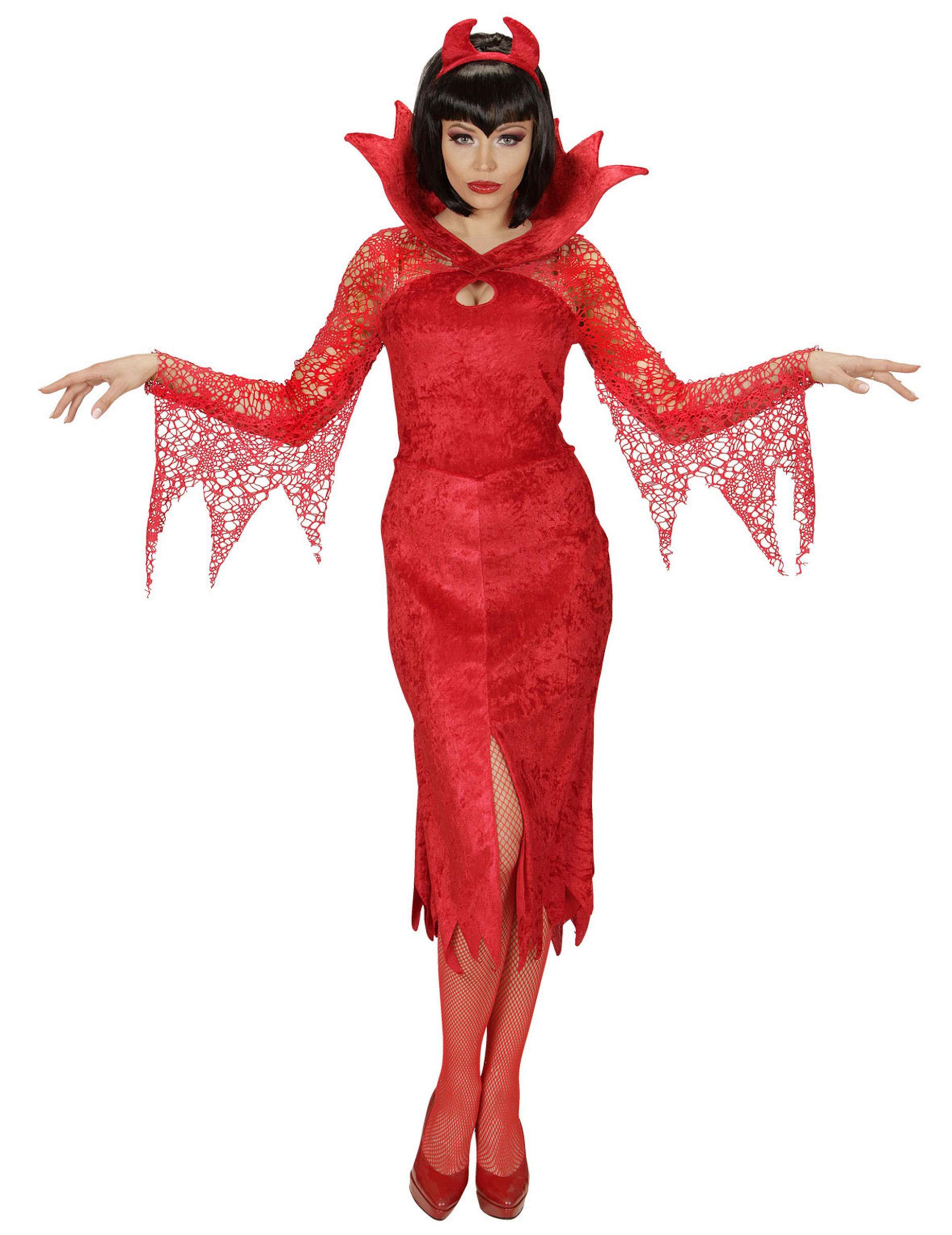 Augenmasken Gesicht Maske Fasching Karneval Halloween Kostüm Teufel Teufelin