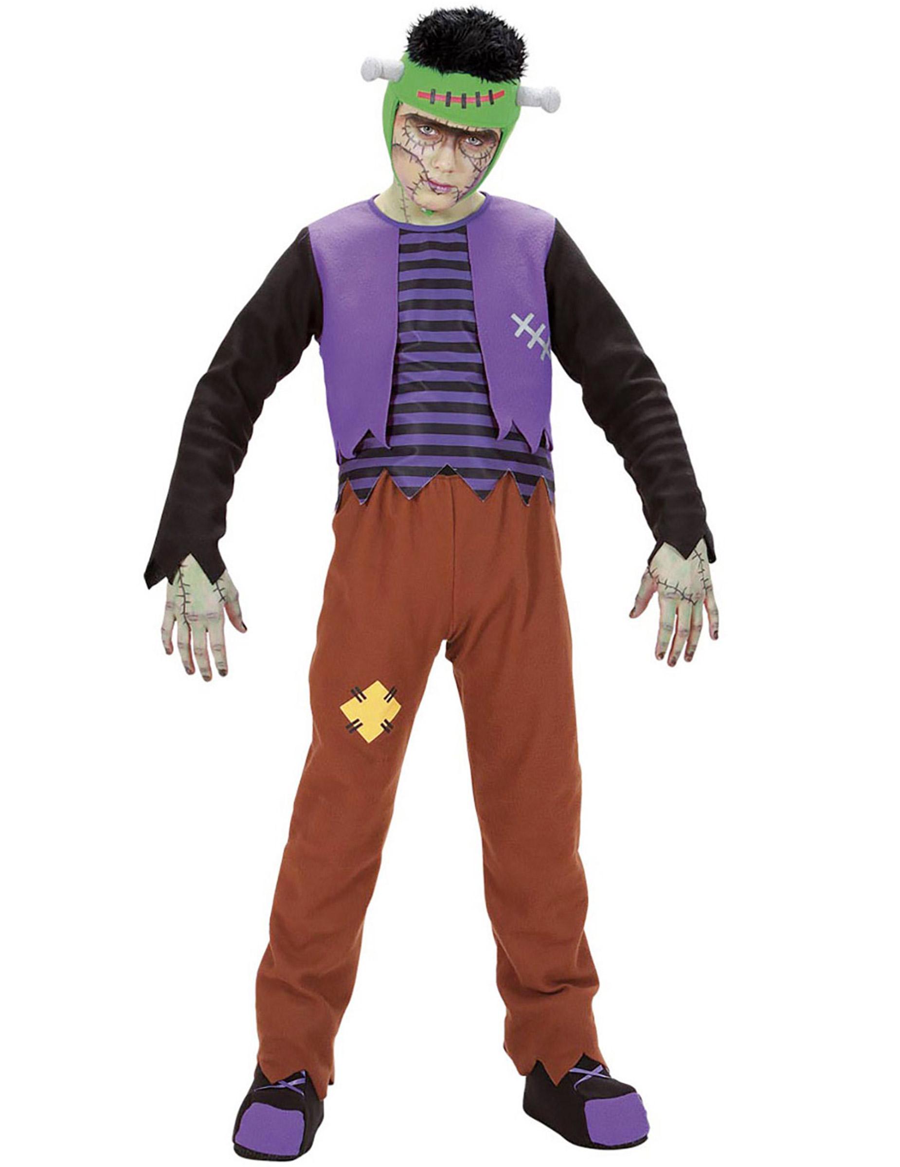 Monster Kostuem Fuer Jungen.Uberlebendes Monster Kostum Fur Jungen Halloweenkostum Bunt Gunstige Faschings Kostume Bei Karneval Megastore