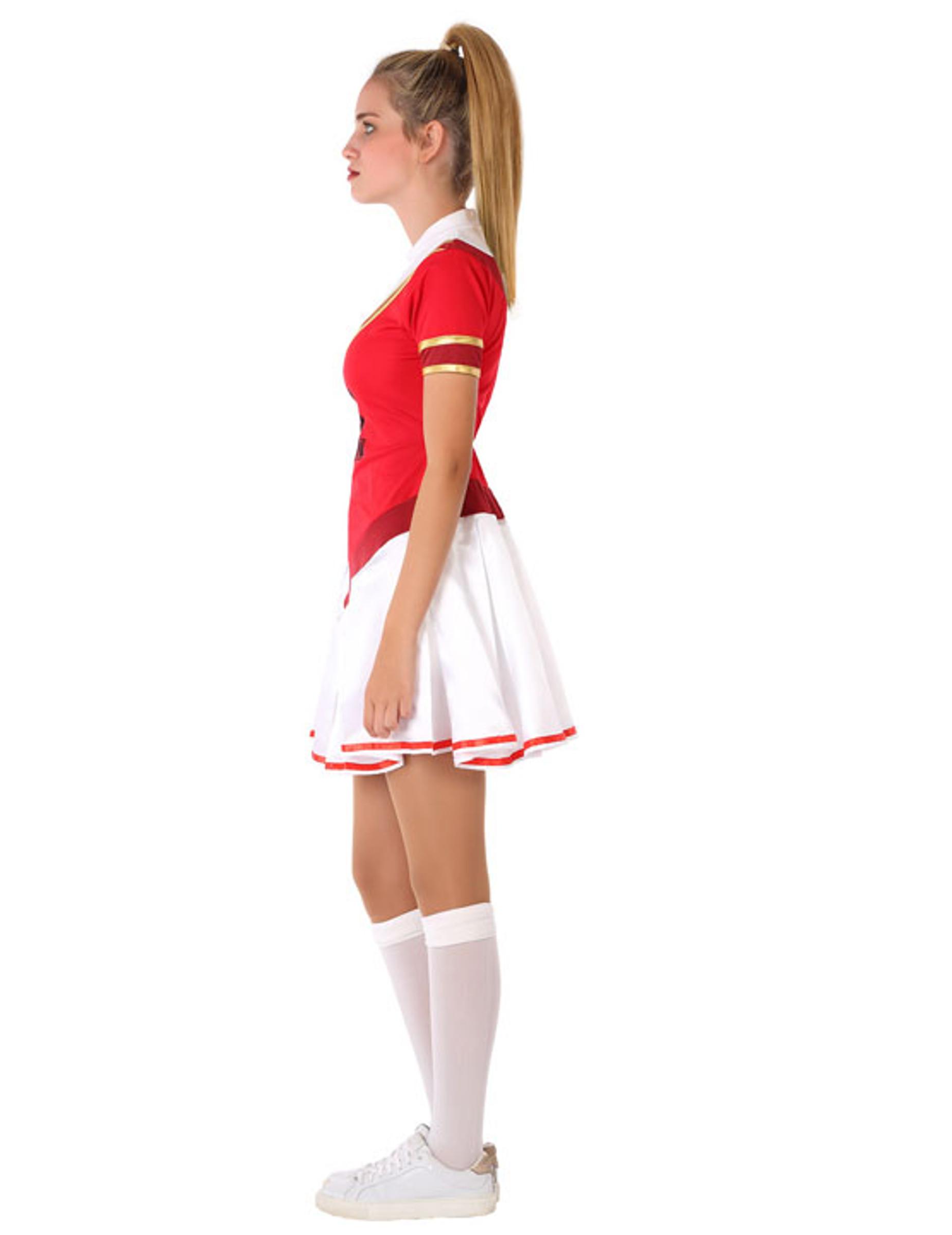 Cheerleader-Kostüm für Jugendliche Teenager-Kostüm ...