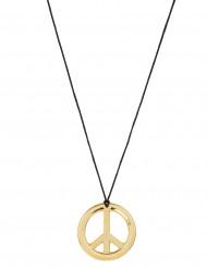 Metall Halskette Hippie Kette gold