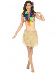 Hawaii-Rock Kostüm-Zubehör beige