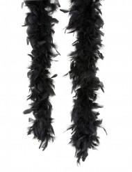 Federboa schwarz 180cm