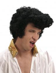 Elvis Rockstar Perücke schwarz