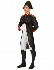 Napoleon-Kostüm Historisches Herrenkostüm schwarz-weiss-rot