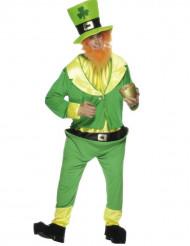 Glücksbringer Kobold Kostüm Märchen grün