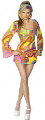 Sixties Style Damen Kostüm bunt