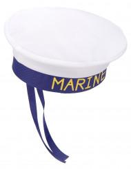 Matrosenmütze Marine weiss-blau