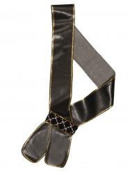 Schwertholster Pirat schwarz-gold