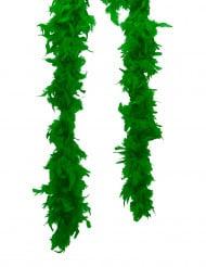 Federboa Kostüm-Accessoire grün