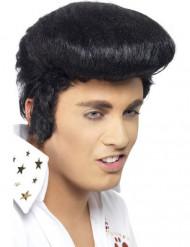 Elvis Perücke Deluxe schwarz