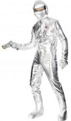 Astronaut Kostüm silber