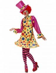 Clown Damenkostüm bunt