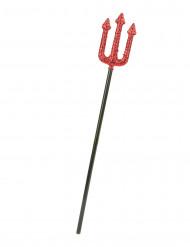 Teufel Dreizack schwarz-rot 58cm