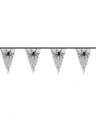 Spinnengirlande Halloween Raumdekoration transparent 6 m