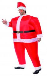 Aufblasbarer Weihnachtsmann Kostüm