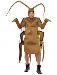 Kakerlake Kostüm Küchenschabe braun