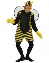 Biene Kostüm Tierkostüm schwarz-gelb