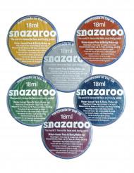 Snazaroo Metallic Schminke Make-Up Zubehör, 6 versch. Farben zum Auswählen 18 ml Dose