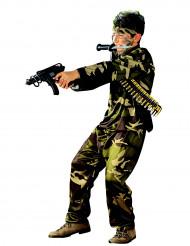 Kämpfer Kinderkostüm Soldat camouflage