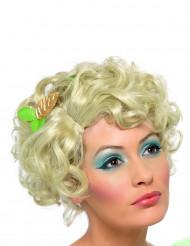 Märchenhafte Fee Kurzhaar-Perücke blond