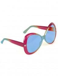 Hippie Brille für Damen und Herren blau