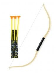 Flitzebogen Indianer Bogen gelb-schwarz