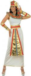 Cleopatra Kostüm weiss-gold-rot