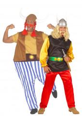 Asterix und Obelix - Paarkostüm für Erwachsene