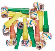 Witzige Luftrüssel Partytröten 10 Stück bunt