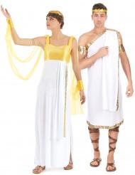 Paar-Kostüm - Griechische Götter - Gelb/Weiß/Gold