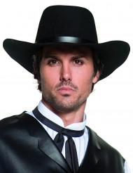 Edler Cowboy Hut Western schwarz