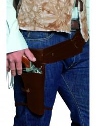 Cowboy Waffen Gurt braun