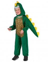 Dinosaurier Kinder-Kostüm grün
