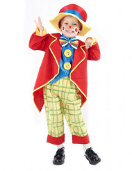 Lustiger Clown Kinderkostüm Zirkus bunt