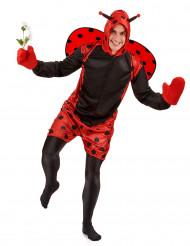 Lustiger Marienkäfer Kostüm Tierkostüm rot-schwarz