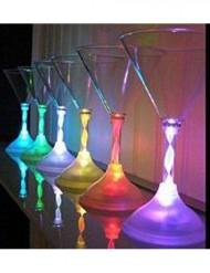 Leuchtende Cocktailgläser für Partys