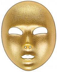 Venezianische Maske gold